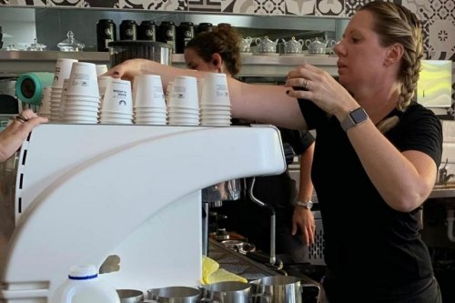 Barista makes 420 cappuccinos in one hour for Guinness World Record