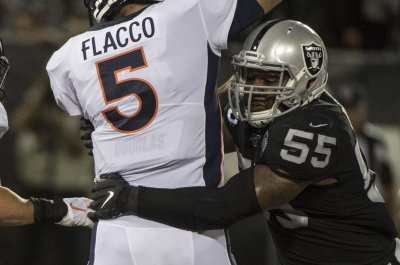 Oakland Raiders LB Vontaze Burfict suspended for season after illegal hit