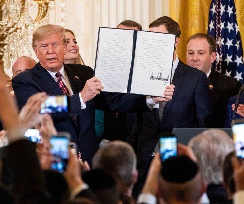Trump signs executive order combatting anti-Semitism at Hanukkah event
