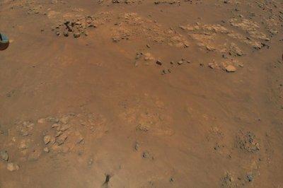 Ingenuity Mars helicopter photos show latest flight area