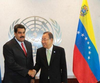 Venezuelan president visits U.N. to discuss Guyana border dispute