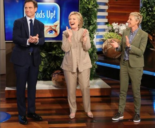 Hillary Clinton talks selfies and 'Saturday Night Live' on 'Ellen'