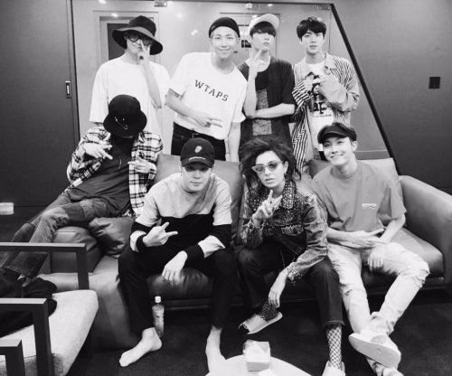 BTS meets 'Boom Clap' singer Charli XCX in South Korea