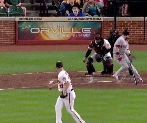 Dustin Pedroia: Boston Red Sox 2B hits ball into his own face