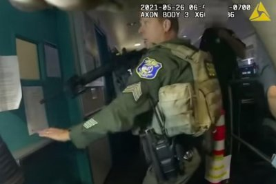 Officials release police body camera video of San Jose shooting attack