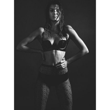 Kendall Jenner shares photo in leather lingerie from Love magazine spread