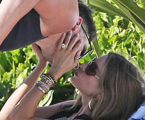 Sofia Vergara spotted with massive engagement ring