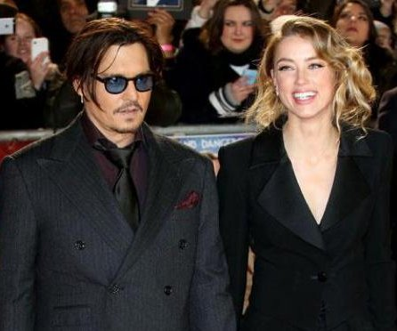 Amber Heard joins Johnny Depp at premiere after breakup rumors