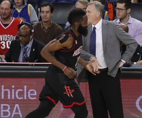 James Harden scores 40 in Houston Rockets' win over Denver Nuggets