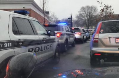 Two Ohio police officers killed responding to a call, officials say