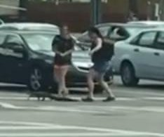 Drivers help alligator use crosswalk in Florida