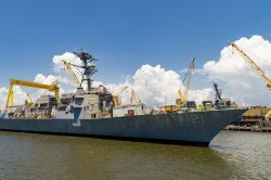 USS Frank E. Petersen Jr. guided-missile destroyer completes acceptance trials