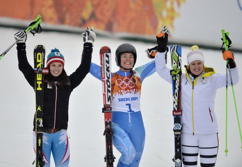 Maze wins second Olympic gold in giant slalom