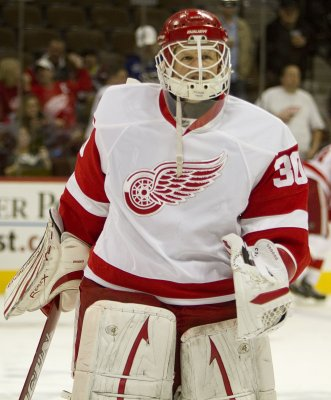 Goalie Osgood activated by Red Wings