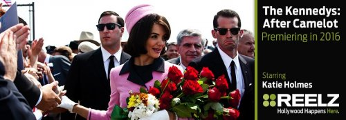 Katie Holmes to play Jackie Kennedy again in four-part miniseries