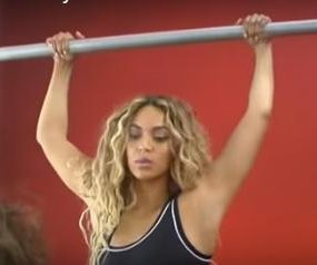 Beyonce draws on inspiration from her daughter in a commercial for her new clothing line, Ivy Park