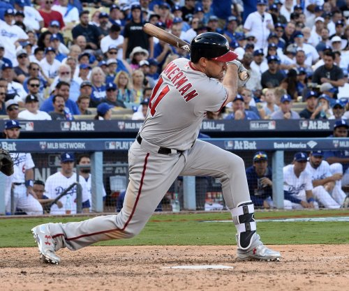 Ryan Zimmerman's double helps Washington Nationals edge Arizona Diamondbacks