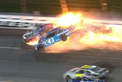 Are NASCAR speeds too fast for safety?