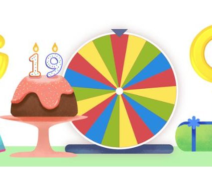 Google celebrates 19th birthday with new, interactive Doodle