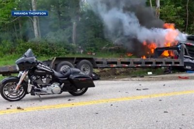 Authorities identify seven killed in New Hampshire motorcycle crash