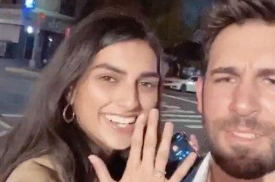 'Bachelorette' alum Derek Peth engaged to Saffron Vadher