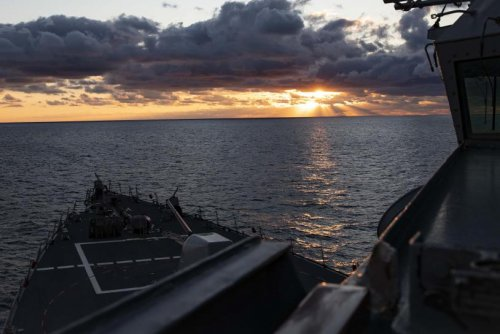 USS Porter departs Naval Station Rota for exercises in Europe, Africa