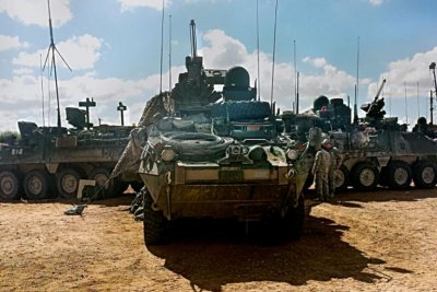 Oshkosh Defense wins potential $942.9M contract for Stryker armaments