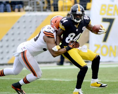 Steelers' Brown confronts coach during game, demands more passes