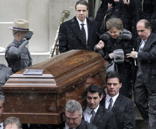 Funeral held for former N.Y. Gov. Mario Cuomo