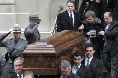 Funeral held for former N.Y. Gov. Mario Cuomo