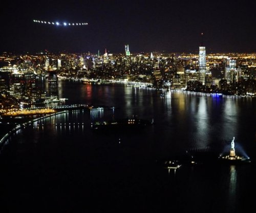 Solar Impulse 2 lands in New York City