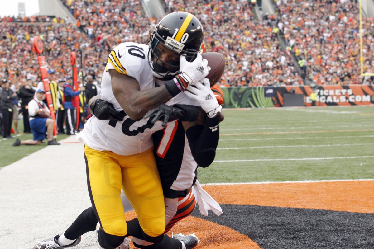 Pittsburgh Steelers finally WR Martavis Bryant on the field