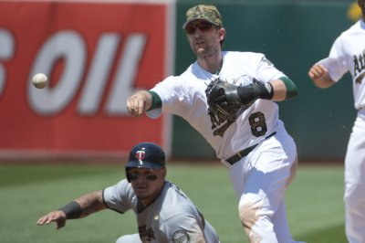 Angels take on A's in crucial tilt