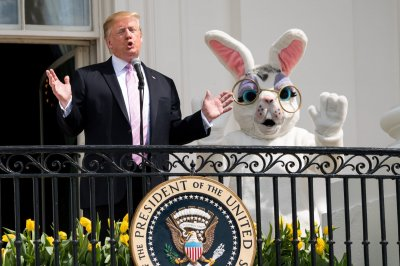 Trumps host 141st White House Easter Egg Roll