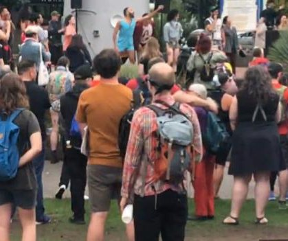 Portland alt-right rally end without major incident after Trump's tweet