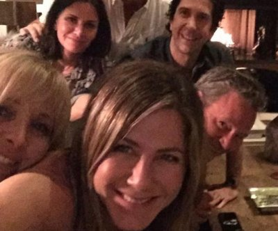 Jennifer Aniston joins Instagram with photo of 'Friends' reunion