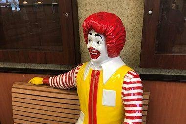 $500 reward offered for stolen Ronald McDonald statue