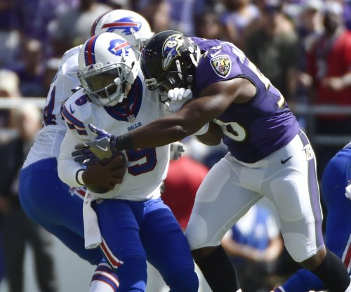 Baltimore Ravens looking at several pass rushers during OTAs