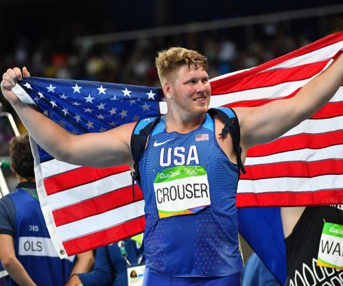 American Ryan Crouser shatters shot put world record at U.S. Olympic Trials