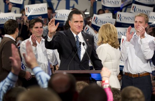 Romney to work at son's investment firm