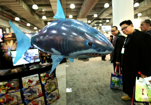 U.S. led world in shark attacks in 2012