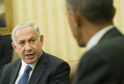 President Obama and Israeli PM Netanyahu hold bilateral talks at White House