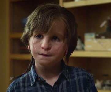 Jacob Tremblay wants to fit in at school in first trailer for 'Wonder'