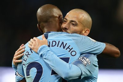 Manchester City's David Silva out for weeks with hamstring injury