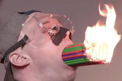 Web series host attempts three Guinness records, ties one
