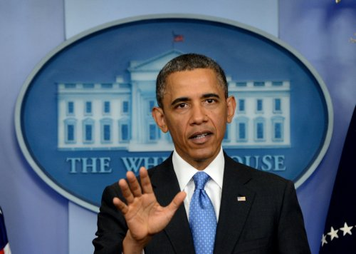 Obama holds wide-ranging news conference on foreign, domestic issues.