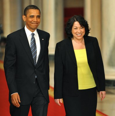 Obama picks Sotomayor for Supreme Court