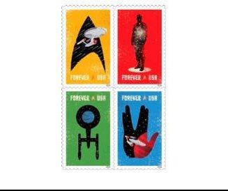 U.S. Postal Service shows off new 2016 'Star Trek' stamps