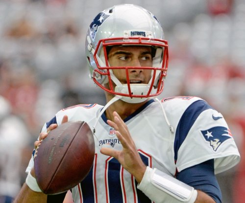 New England Patriots' Jimmy Garoppolo passes first test
