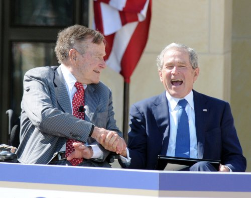 George W. Bush dedicates library with faith in future of country